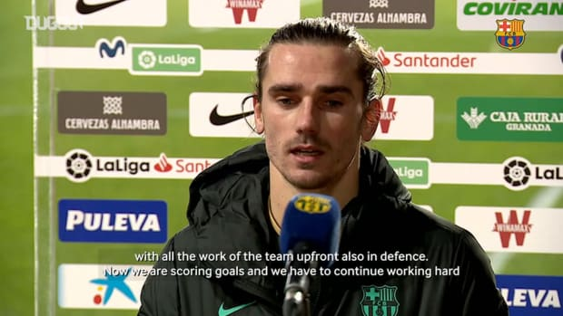 Antoine Griezmann: 'We needed to get this streak going'