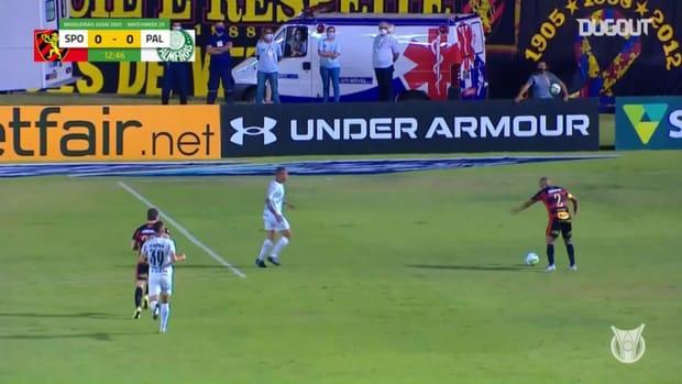Highlights Brasileirão: Sport Recife 0-1 Palmeiras