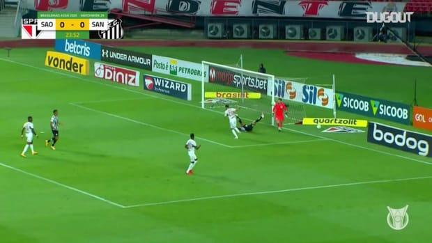 Highlights Brasileirão: São Paulo 0-1 Santos