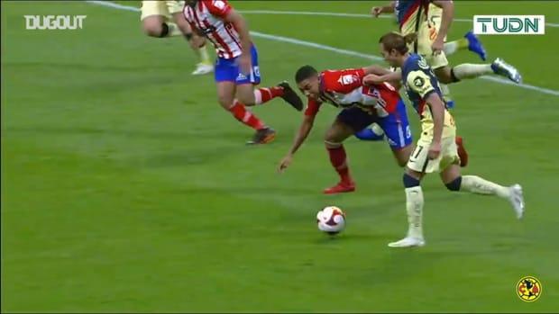 Sebastián Córdova's goal vs Atlético San Luis