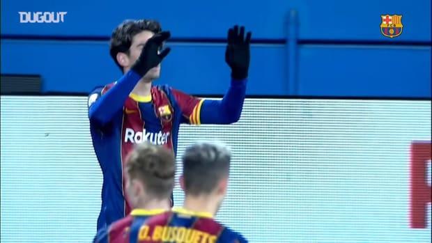 Alex Collado' 'olympic' goal against Badalona