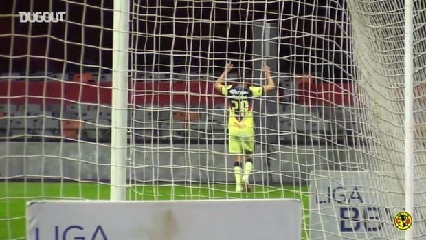 Pitchside: América's goals vs Atlético San Luis