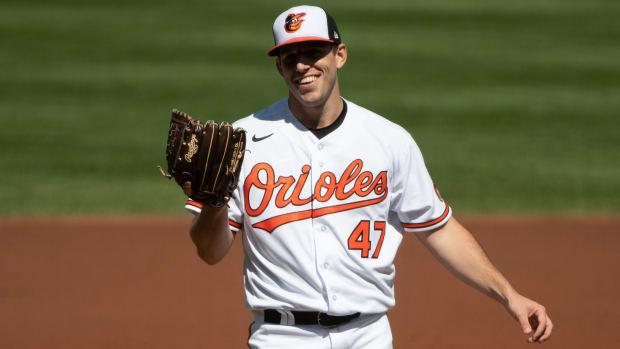 Baltimore Orioles John Means