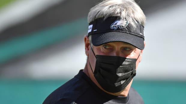 Eagles head coach Doug Pederson