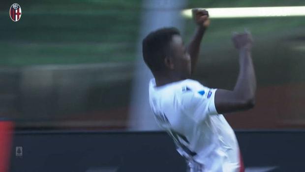 Musa Juwara's first Serie A goal