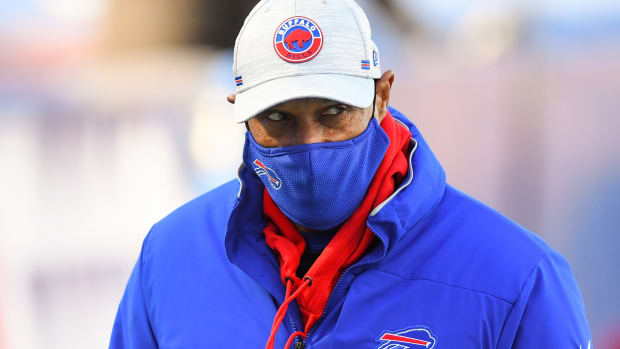 Bills defensive coordinator Leslie Frazier soon could be a head coach again in the NFL.