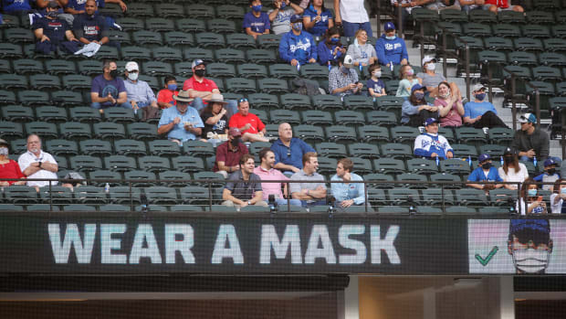 MLB fans reportedly won't be required to get vaccinated for COVID-19 to go the a ballpark.