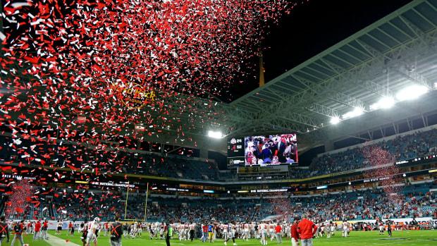 Alabama, confetti
