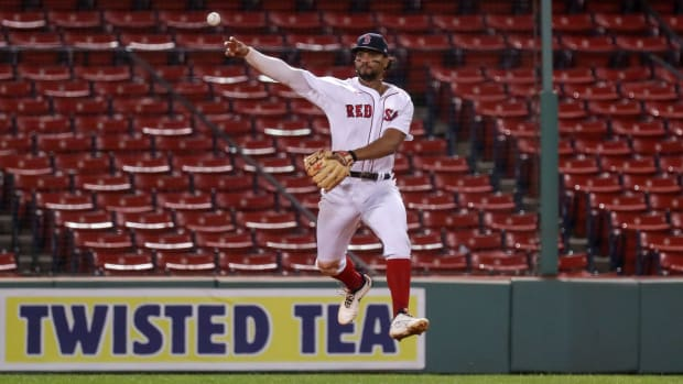 Boston Red Sox Xander Bogaerts