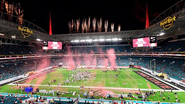 Alabama celebrates national title at Hard Rock Stadium