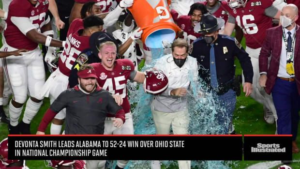 College Football National Championship Game Recap