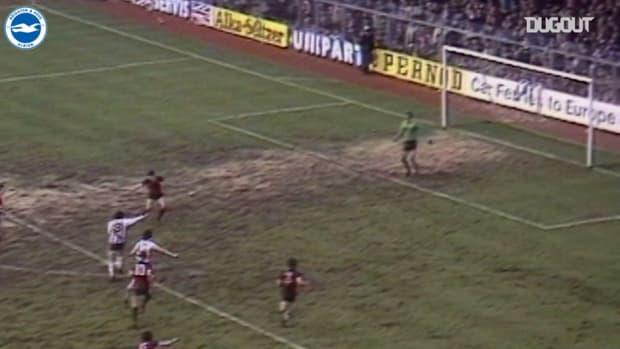 Brighton thrash Man City 4-1 in 1979