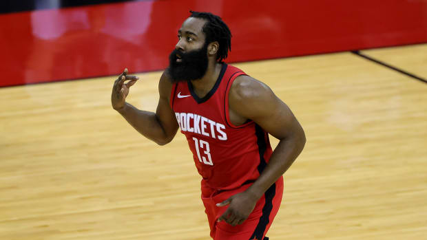 James Harden reportedly reinforced his desire to be traded from the Rockets after the team's loss to the Lakers on Jan. 10.