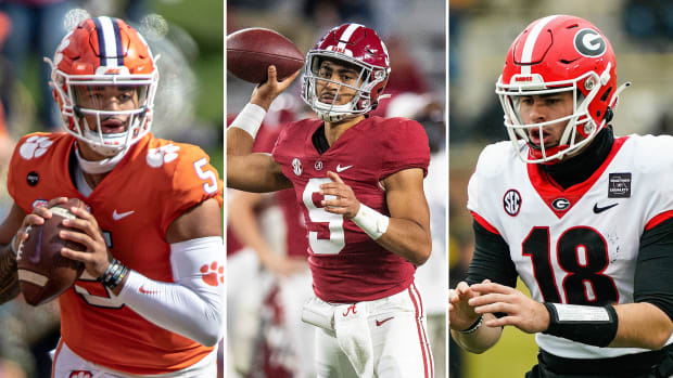 Clemson, Alabama and Georgia make up the top three of SI's Way-Too-Early 2021 Top 25