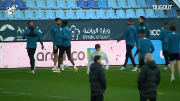 Athletic Club prepare for Spanish Supercup semi-final against Real Madrid