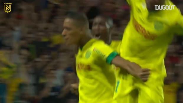 Yacine Bammou scores winner vs Lens on his first professional shot