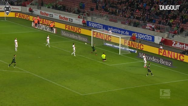Herrmann lashes home to seal Monchengladbach win over Stuttgart