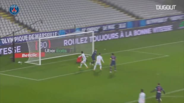 Mauro Icardi scored the first PSG goal against Olympique de Marseille
