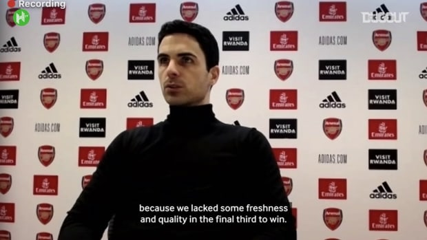 Arteta disappointed by Palace draw, discusses Özil's Arsenal situation