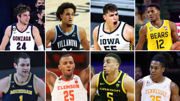 Top college basketball contenders at the midway point