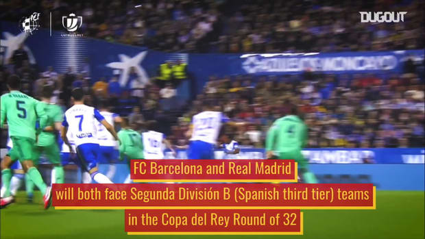 Barcelona and Madrid's third tier Copa del Rey rivals