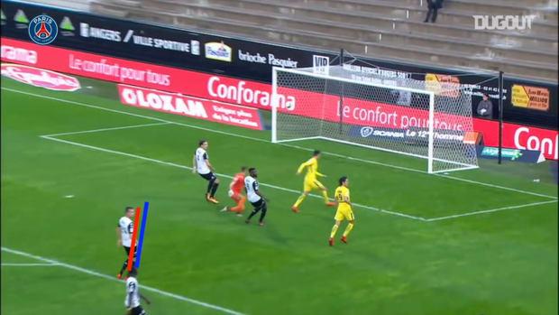 Paris Saint-Germain's best five Ligue 1 goals in Angers