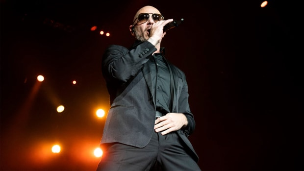 Pitbull performs at the Grand Sierra Resort on Sunday, June 30, 2019, Reno.