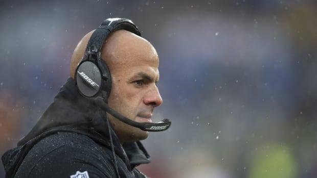Jets new head coach Robert Saleh