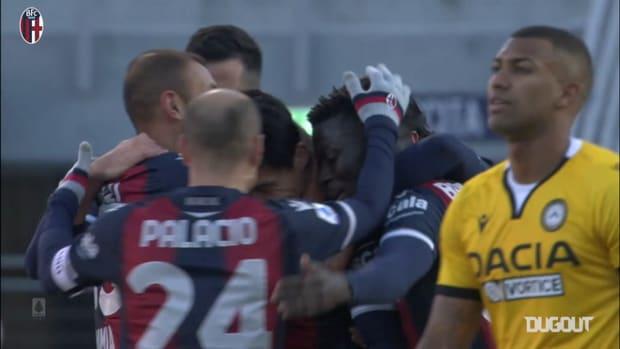 Tomiyasu's header against Udinese
