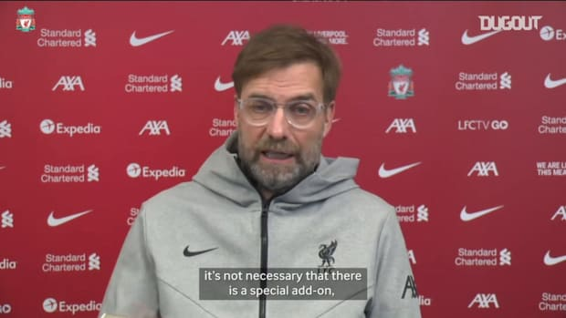 Klopp: Manchester United is motivation itself