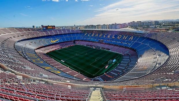 Barcelona's Camp Nou stadium