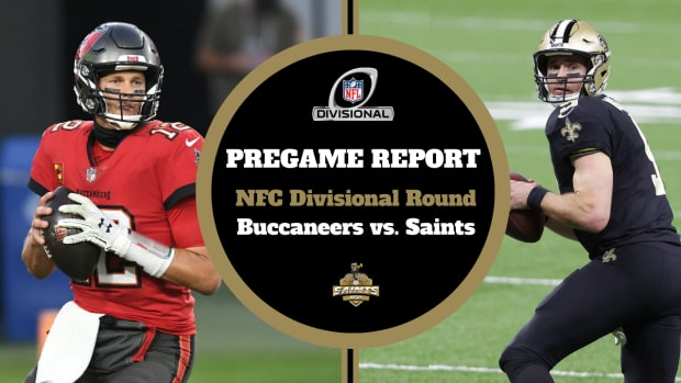 Pregame Report - NFC Divisional Round - Buccaneers vs Saints