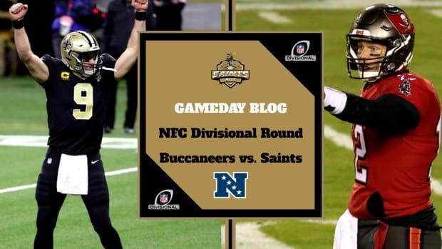 GAMEDAY BLOG - Saints News Network - NFC Divisional Round