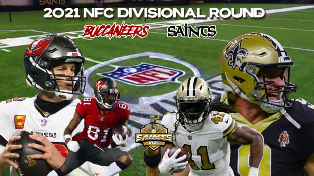 2021 NFC Divisional Round - Buccaneers vs. Saints