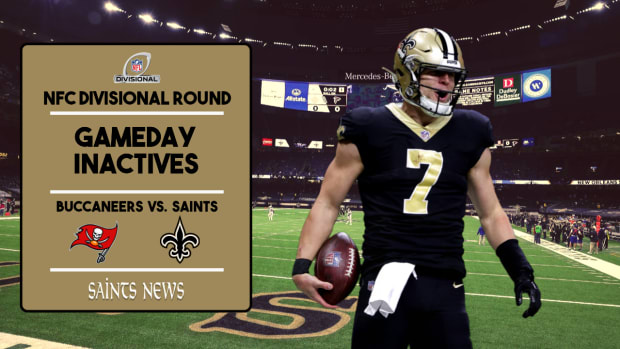 Saints Injury Report NFC Divisional