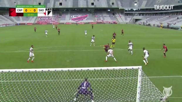 Highlights Brasileirão: Athletico-PR 1-1 São Paulo