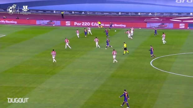 Athletic beat Barcelona 3-2 (aet) in the Spanish Supercup Final