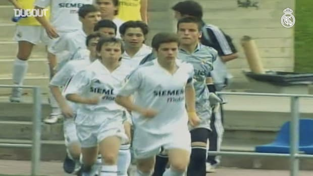 Nacho's time at Real Madrid's youth academy