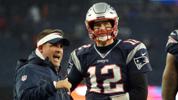 Josh McDaniels has been with Tom Brady most of his career, and now he could be the Eagles' next head coach