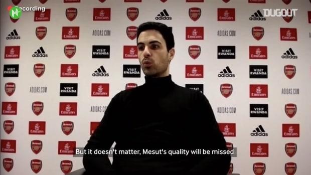 Arteta claims Arsenal will miss Özil quality