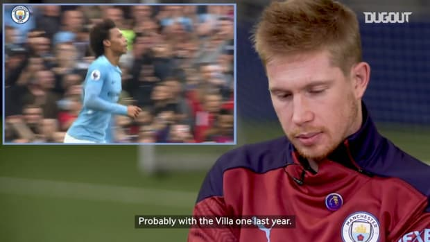 Kevin De Bruyne on his most iconic Manchester City assist
