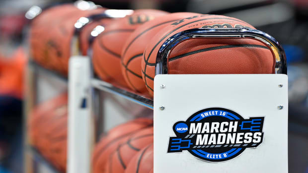 NCAA tournament basketballs