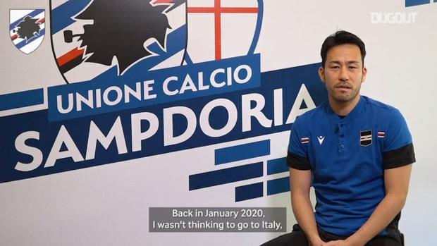 """Yoshida: """"I hope I keep having a nice journey with the Club"""""""