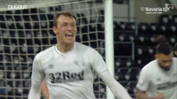 Krystian Bielik helps Rooney to first win as permanent Derby boss