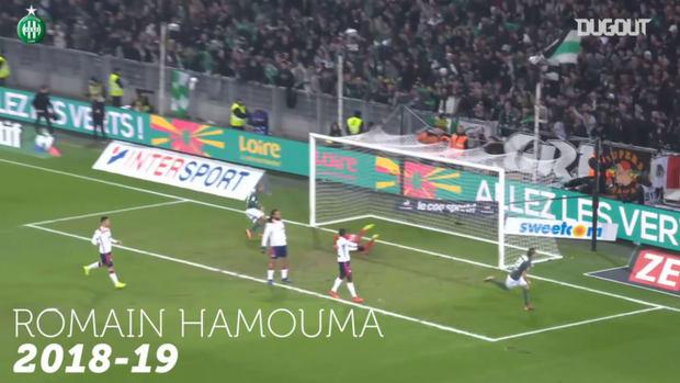 AS Saint-Etienne top five goals vs Lyon at Geoffroy Guichard