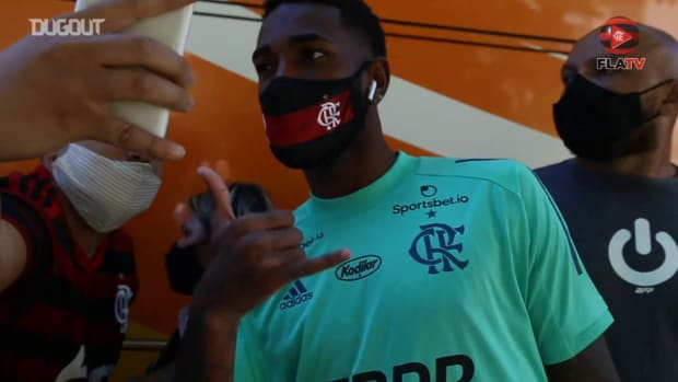 Flamengo complete the first training session in Brasília