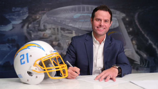 Chargers introduce new head coach Brandon Staley.