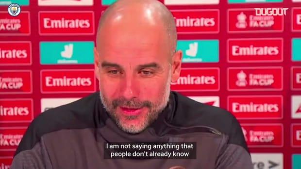Pep discusses De Bruyne injury and Bernardo Silva's return to form