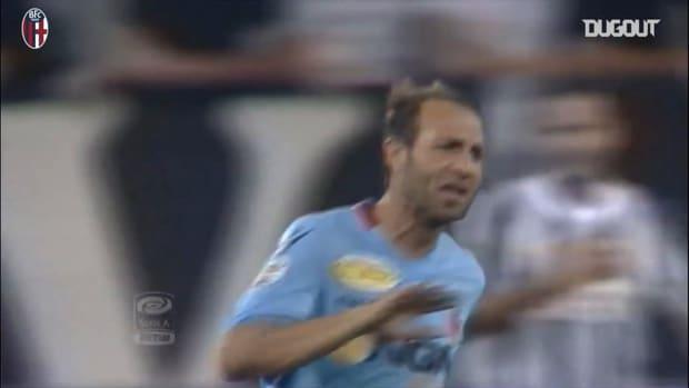 Bologna's last goals at Juventus