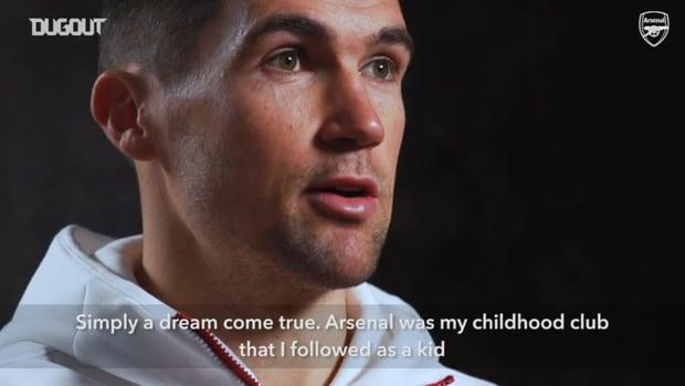 Mat Ryan's first Arsenal interview